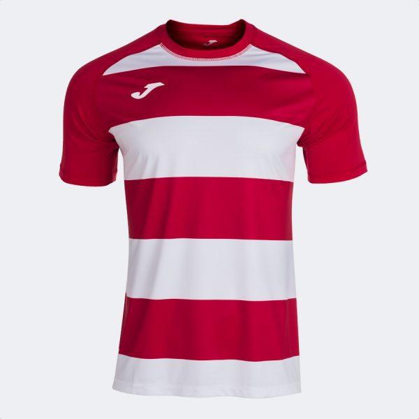 Camiseta Prorugby II rojo y blanco