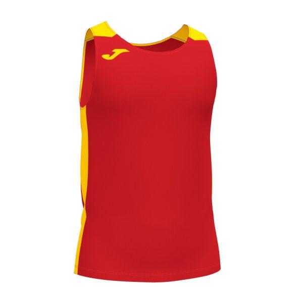 Camiseta Record II rojo y amarillo