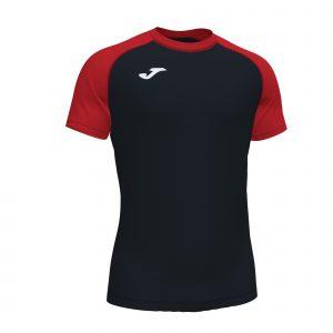 Camiseta Teamwork negro y rojo