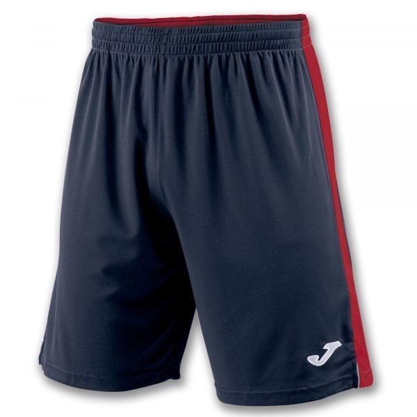 Pantalón Tokio II azul oscuro y rojo