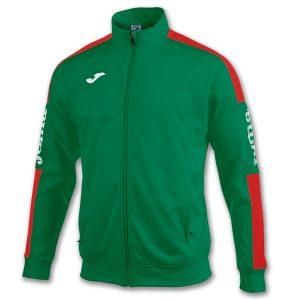 Chaqueta Championship IV verde y rojo