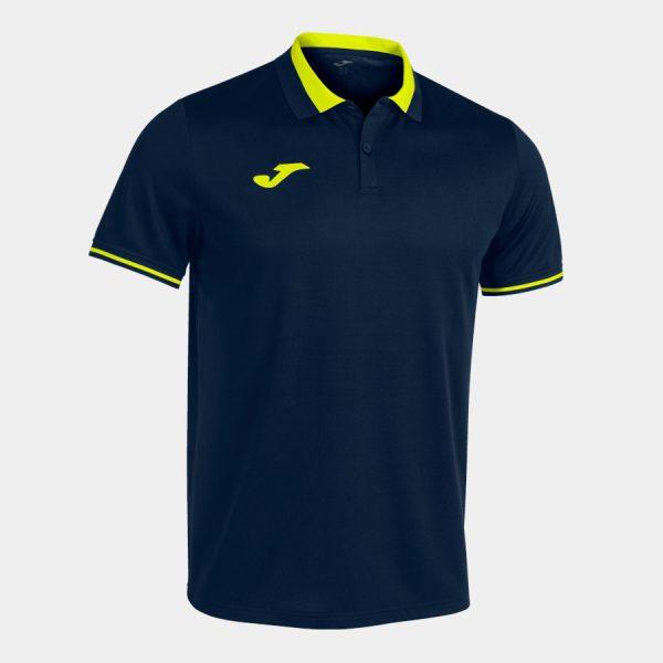 Polo Championship VI azul oscuro y amarillo